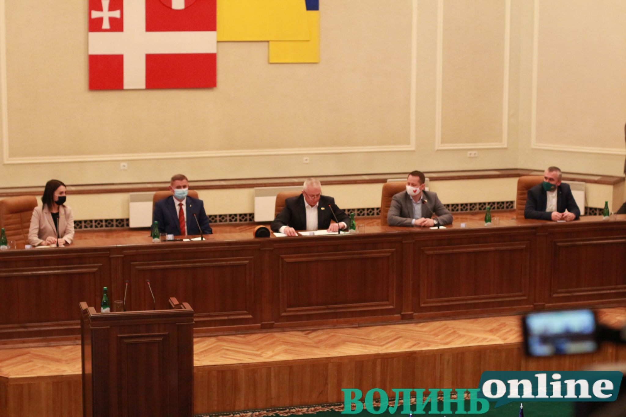 У новообраній Волиньраді утворили депутатські фракції