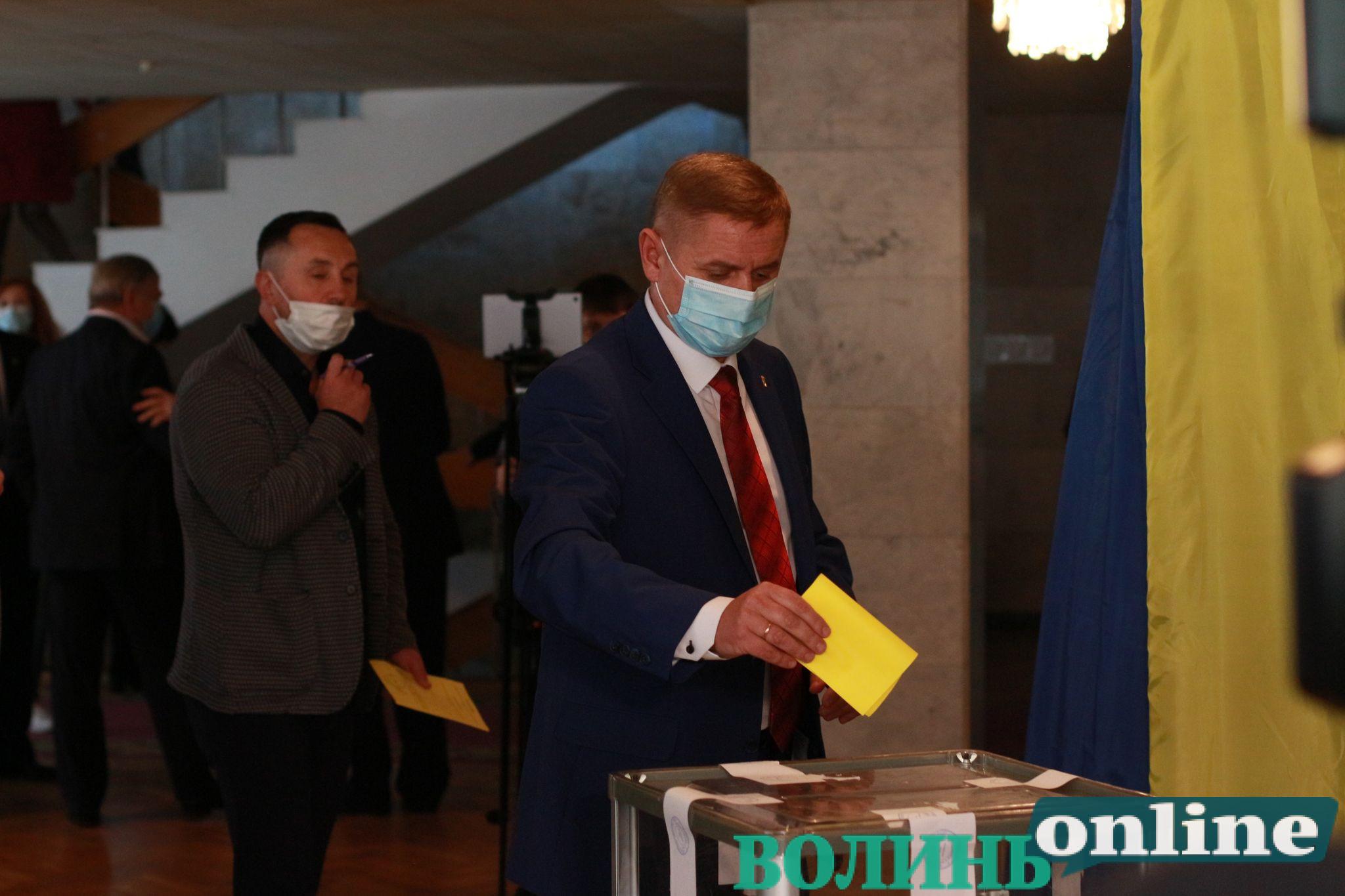 Першим заступником голови Волиньради став Поліщук
