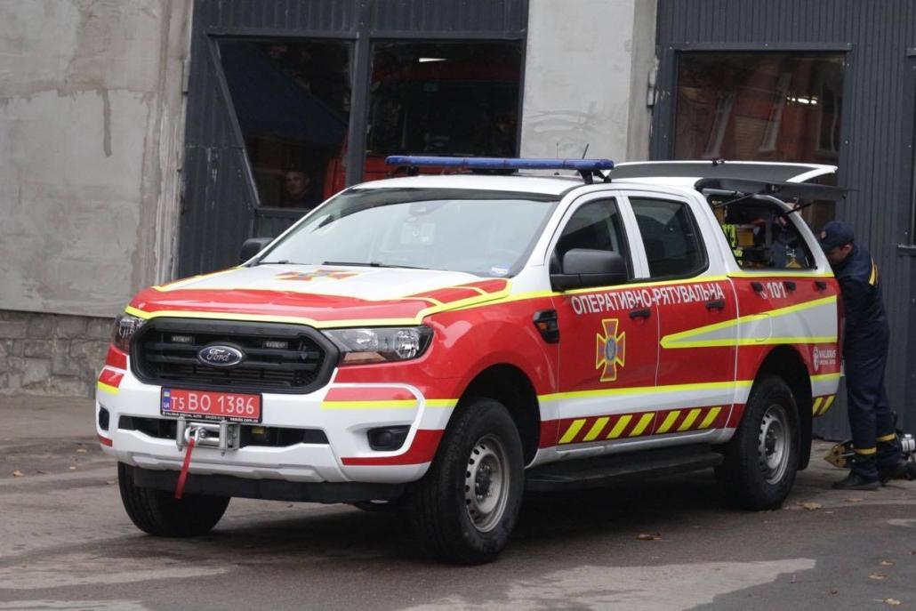 Нововолинські рятувальники отримали новий автомобіль