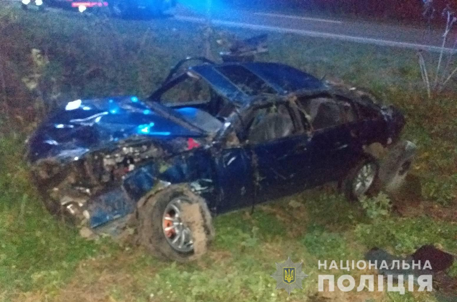 Внаслідок ДТП у Луцькому районі водій та пасажир потрапили до лікарні