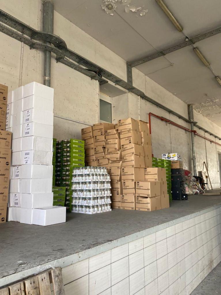 У «Ягодині» серед «гуманітарки» виявили товару на понад 2,5 мільйона гривень