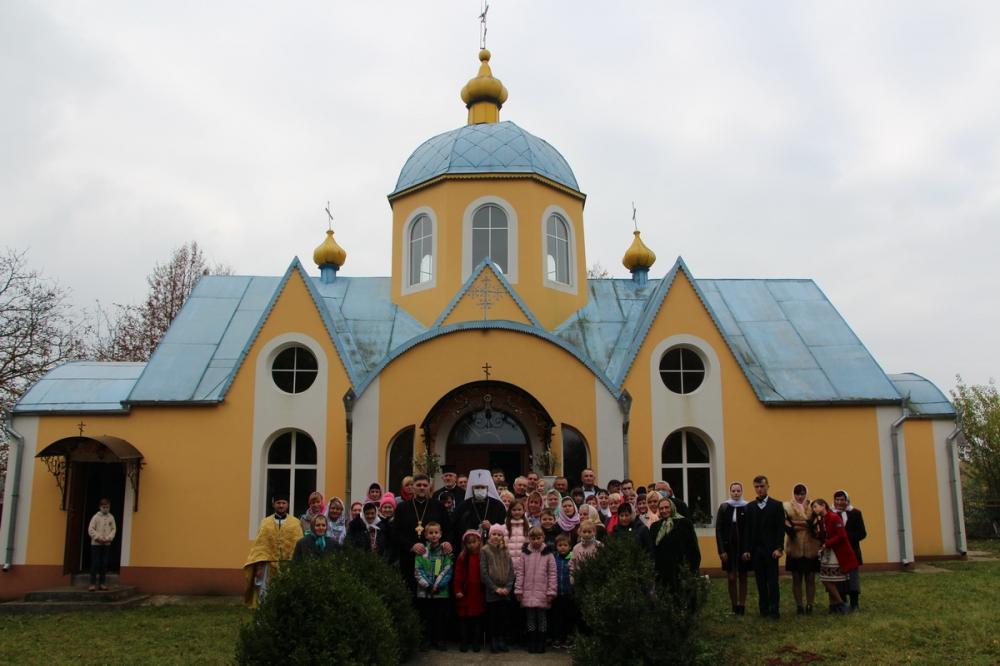 Митрополит Михаїл вперше відвідав парафію на Горохівщині