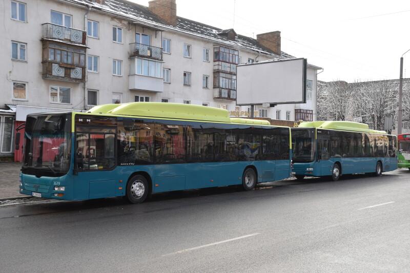 Луцьком курсуватимуть два екологічні автобуси