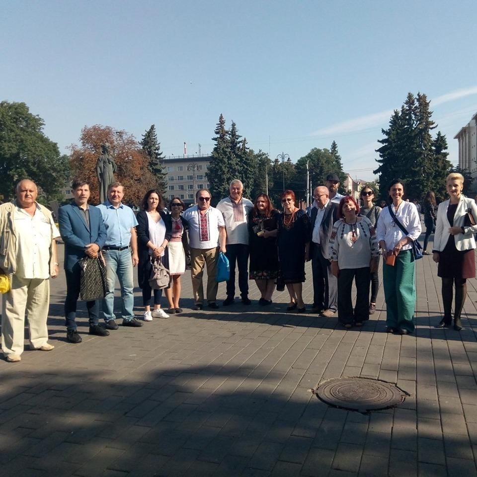 У Луцькраді відзначать колектив Волинської обласної організації НСПУ