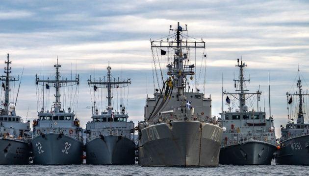 Українські ВМС тренувалися з кораблями НАТО у Чорному морі