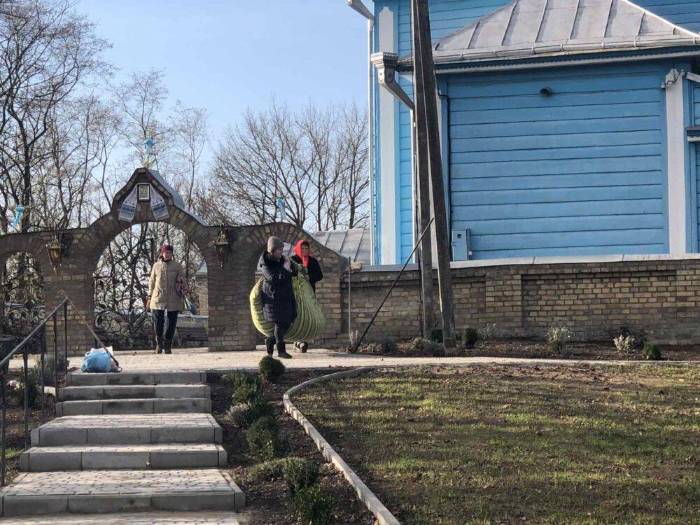 У селі поблизу Луцька відбулася осіння толока