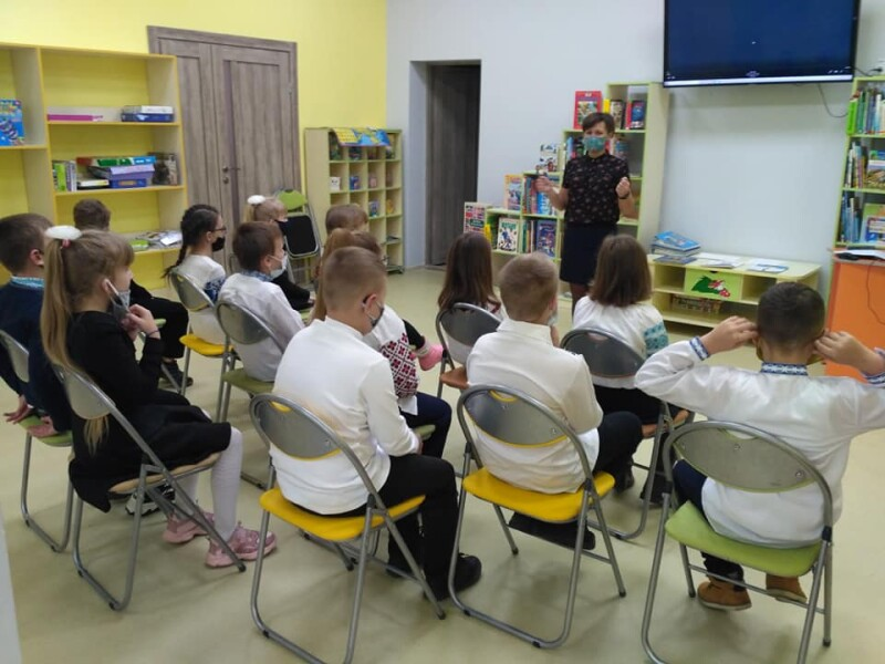 У Центральній бібліотеці для дітей у Луцьку влаштували мовний квест