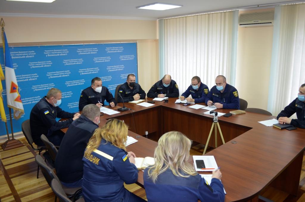 У Луцьку підбили підсумки роботи рятувальників за 10 місяців