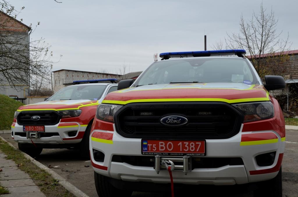 Волинські рятувальники отримали нові автомобілі