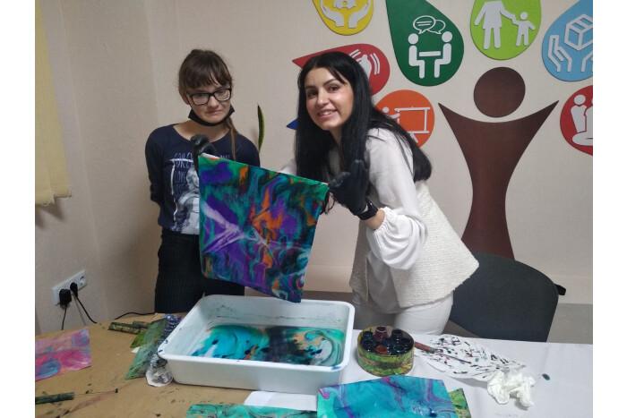 У Луцьку організували майстер-клас для дітей та молоді з інвалідністю