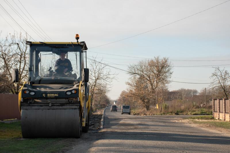 У селі біля Луцька капітально відремонтують вулицю за понад 4,5 мільйони