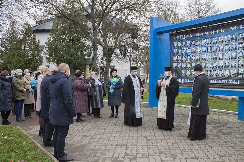 У Нововолинську вшанували День Гідності та Свободи України