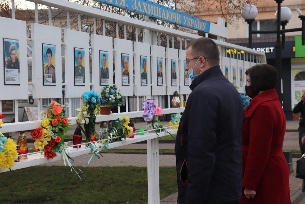 У Володимирі-Волинському вшанували пам'ять Героїв Небесної Сотні