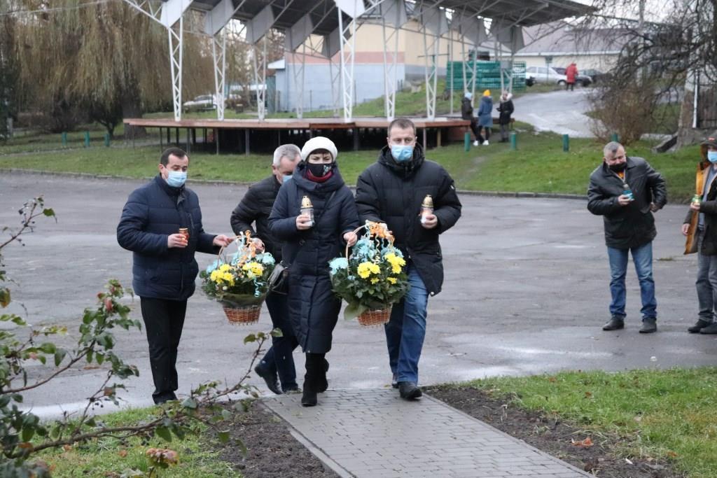 У Володимирі вшанували пам'ять жертв Голодомору