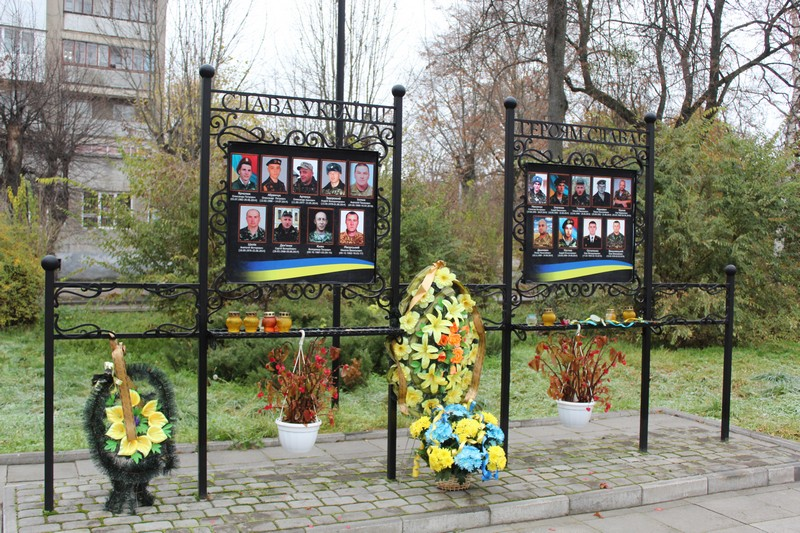 У Ковелі вшанували пам'ять загиблих патріотів