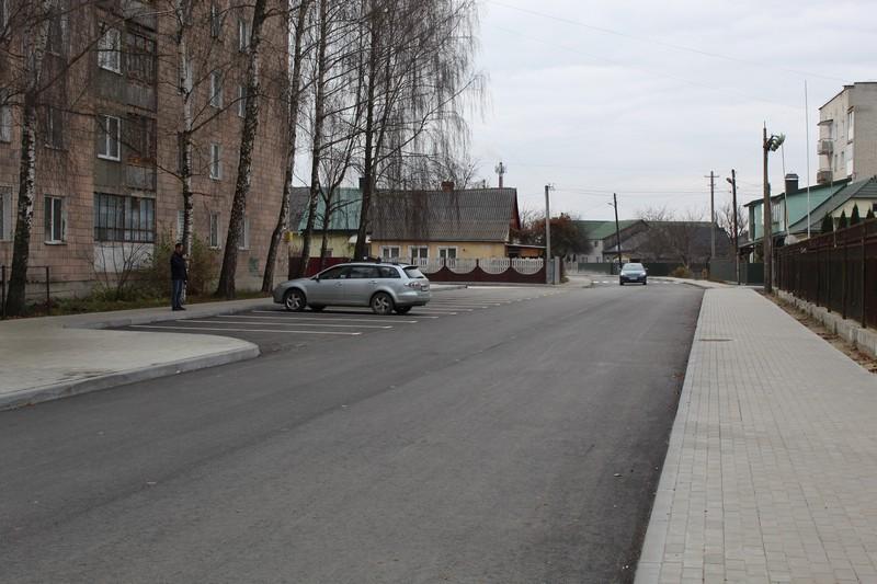 У Ковелі завершують капремонт двох вулиць