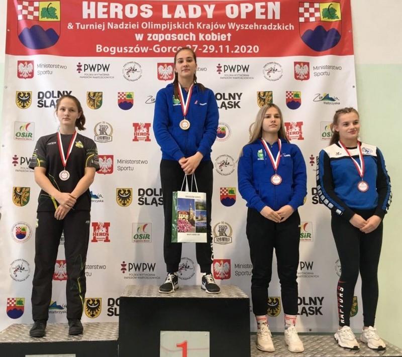 Ковельчанки – переможниці міжнародного турніру з жіночої боротьби
