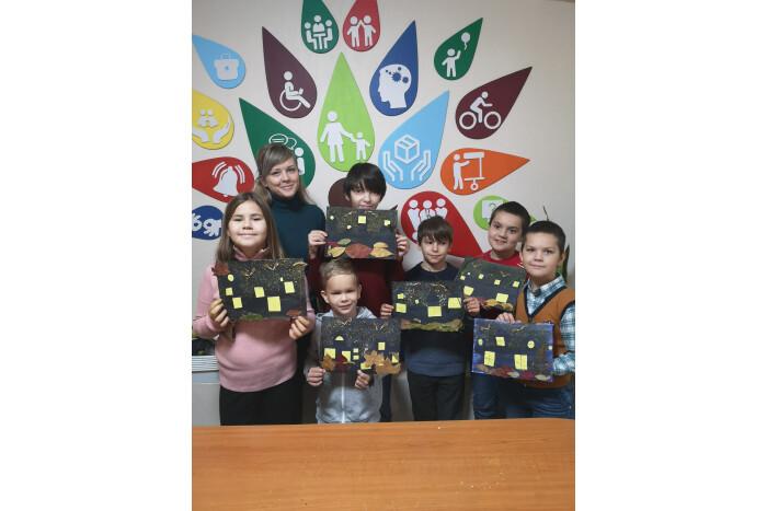 У Луцьку організували арт-тренінгові заняття для дітей з інвалідністю