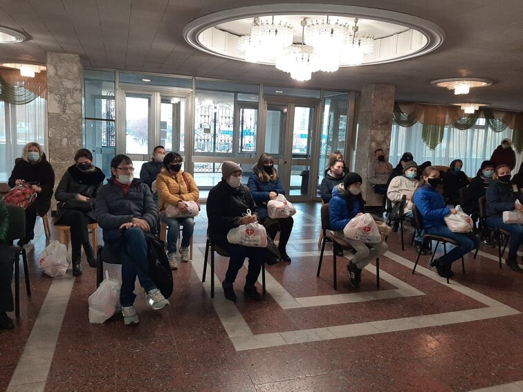 У Луцьку організували благодійну акцію до Всесвітнього дня доброти
