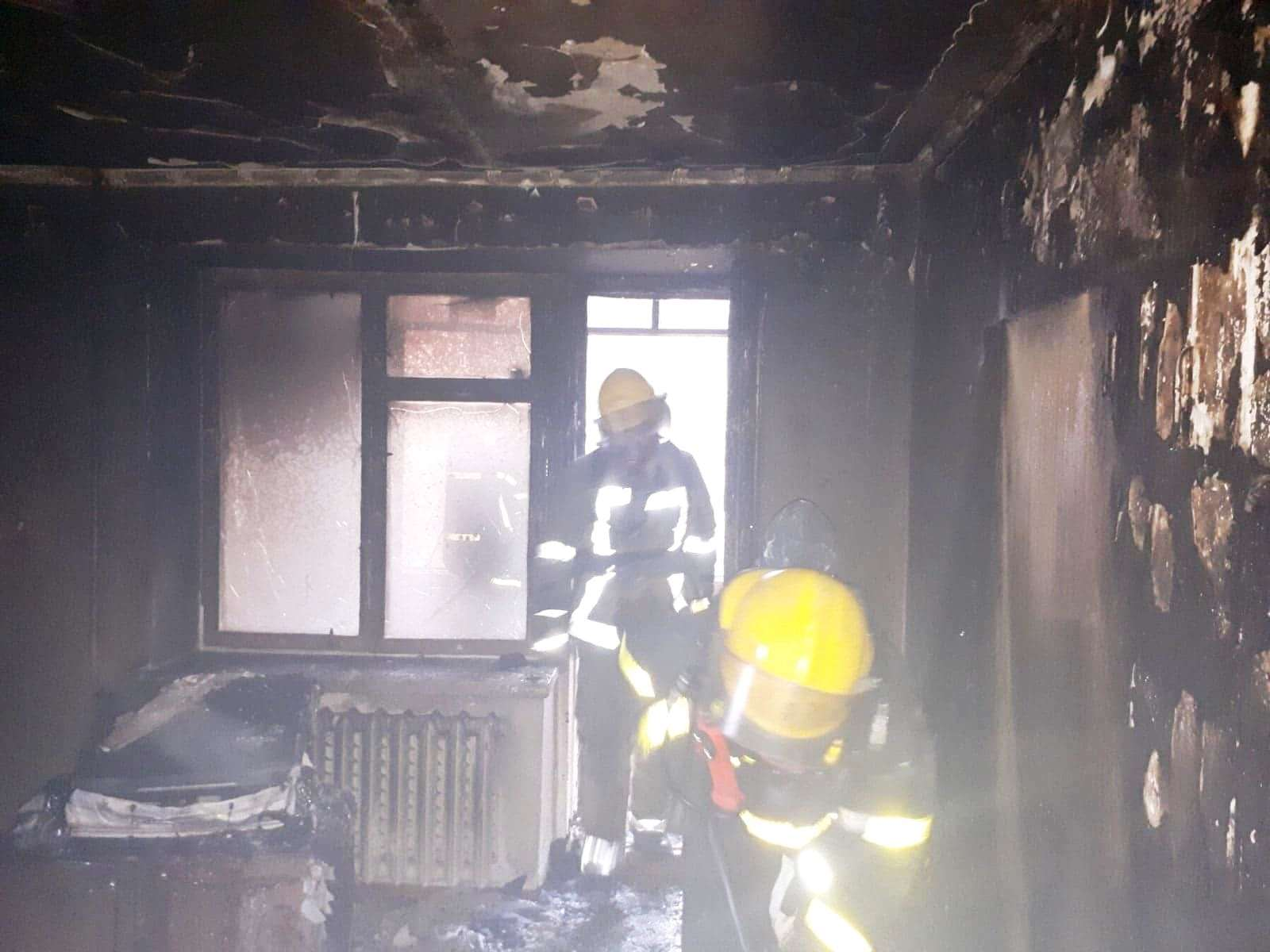 У Нововолинську врятували з пожежі чоловіка