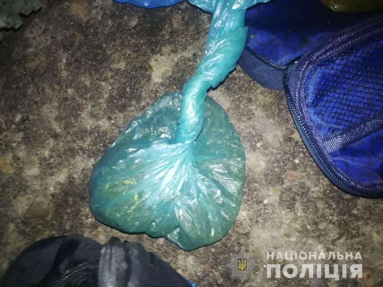 У Луцьку вночі затримали чоловіка з наркотиками