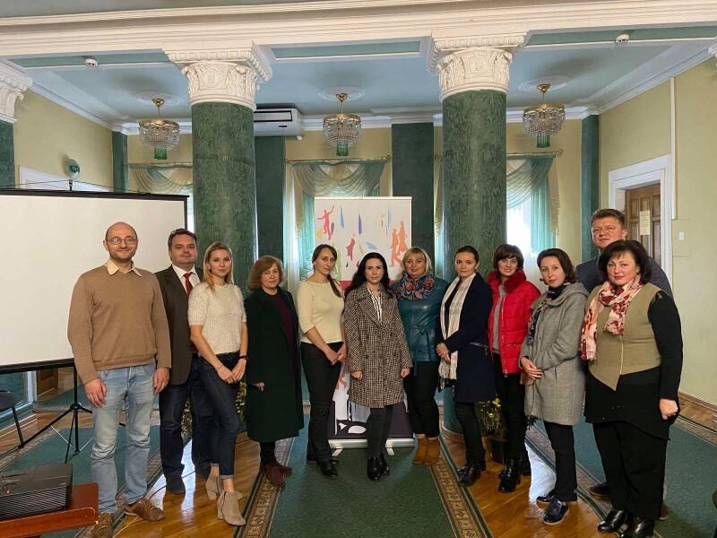 У Луцьку організували серію тренінгів щодо інтеркультурної компетентності