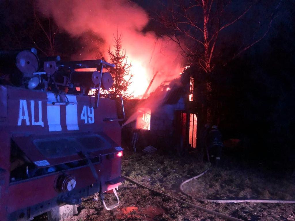 На Волині врятували від вогню житловий будинок