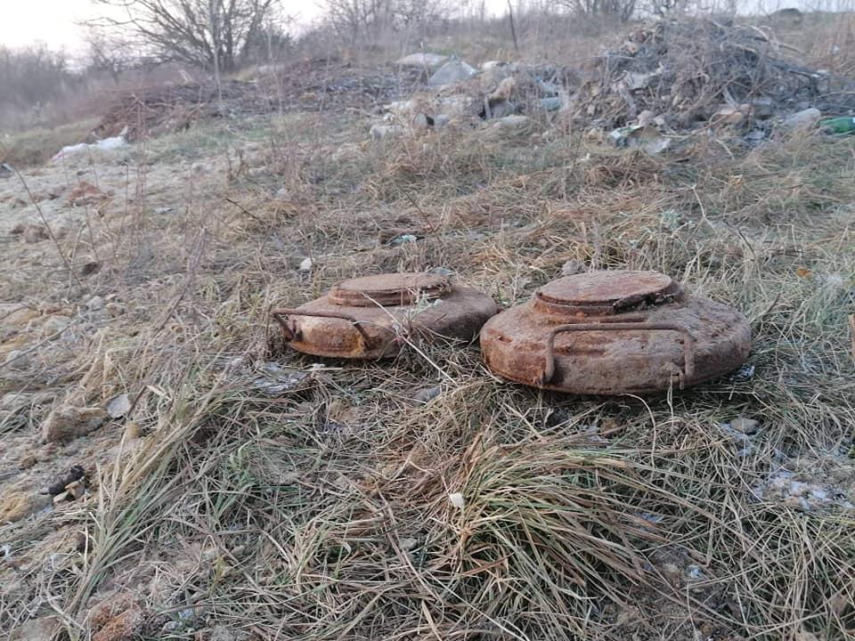 На Волині виявили три вибухонебезпечні предмети