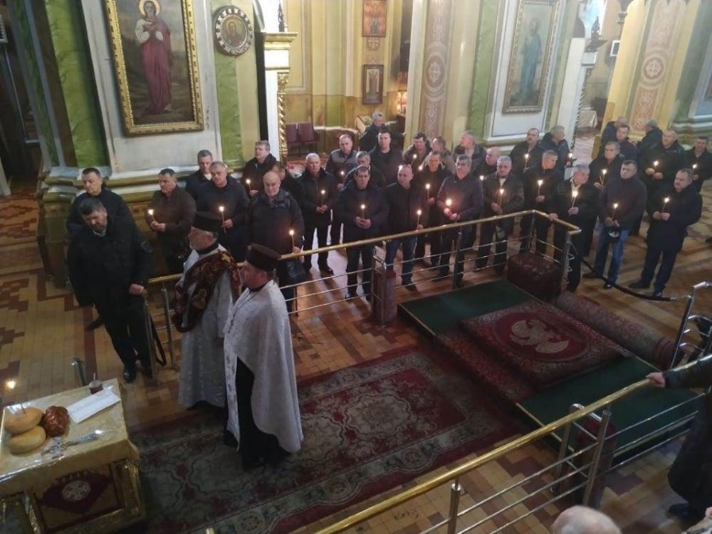 У кафедральному соборі Луцька молилися за воїнів, полеглих в Афганістані