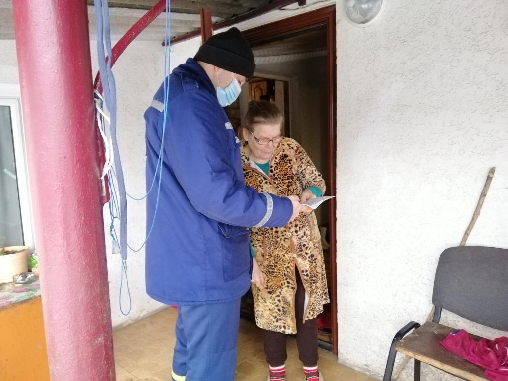 На Волині рятувальники провели рейд у житловому секторі