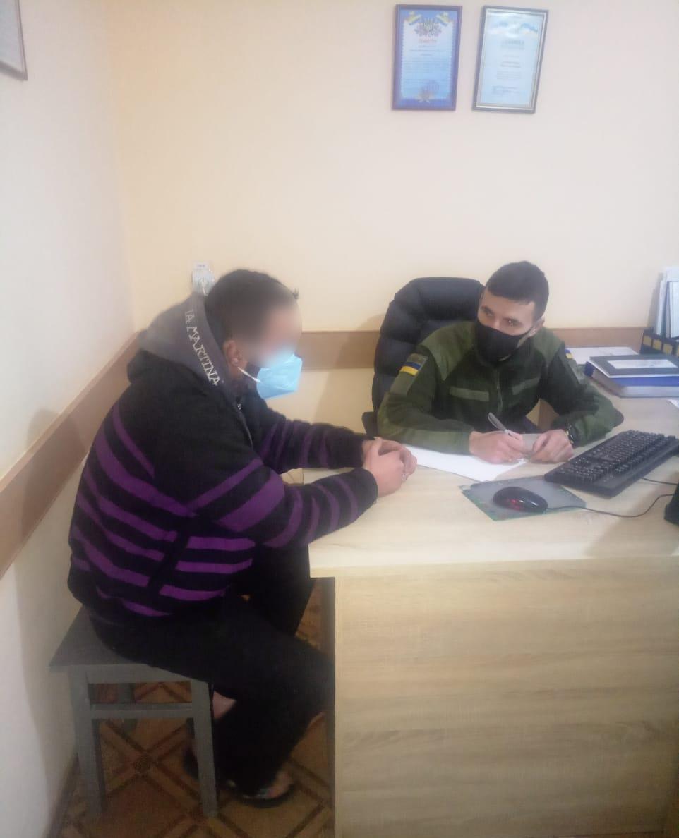 Поблизу кордону з Білоруссю на Волині затримали нелегала з Алжиру