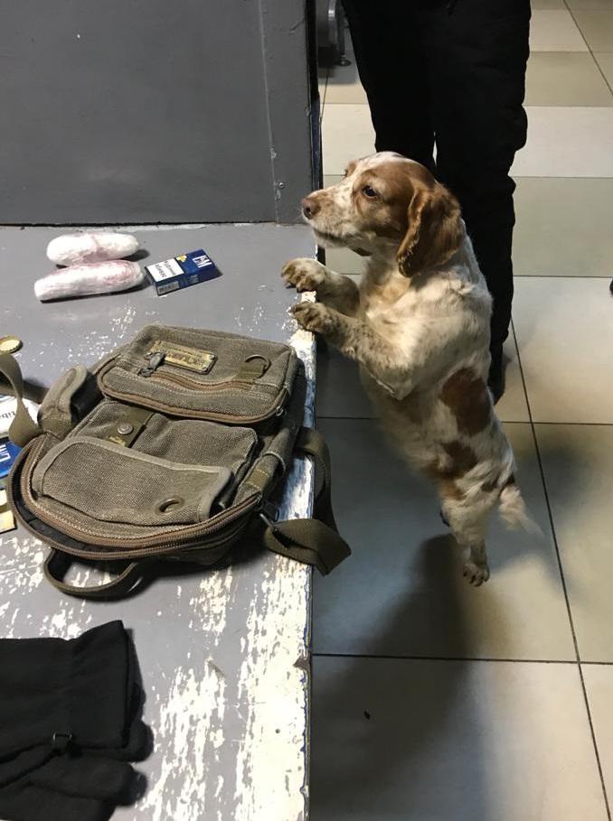 У «Ягодині» затримали пасажира з наркотиками