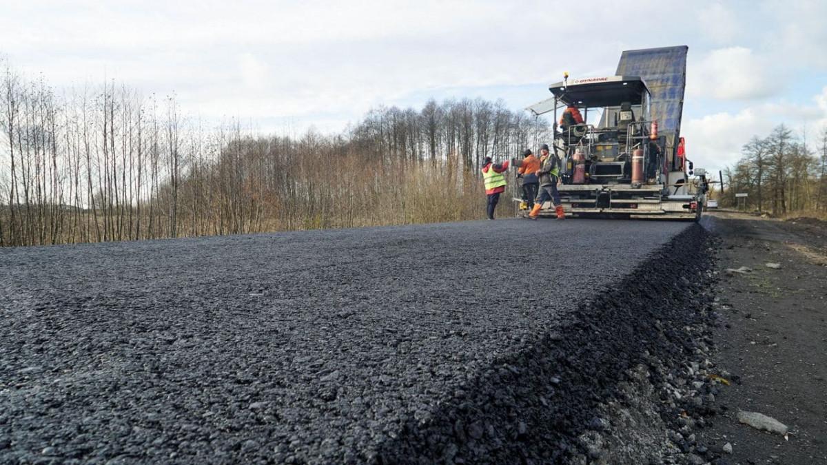 На Волині цьогоріч відновили 21 кілометр міжнародного автошляху