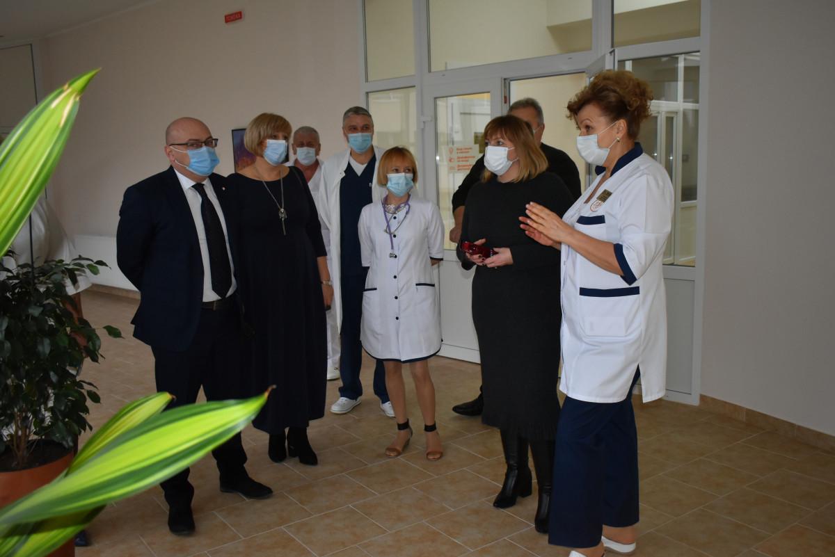 Перша заступниця міністра проінспектувала низку медичних закладів Волині