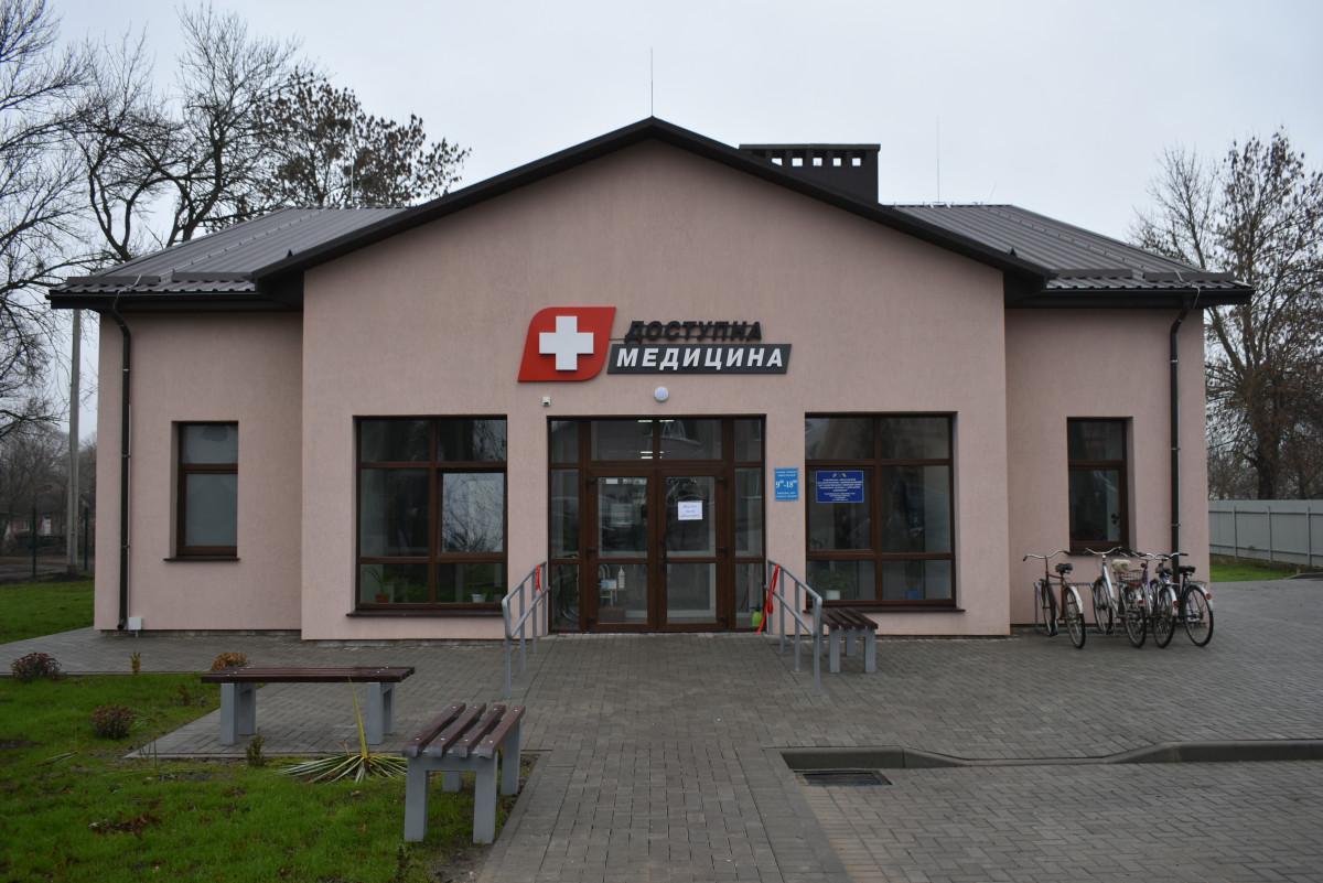 У селі на Волині запрацювала новозбудована амбулаторія
