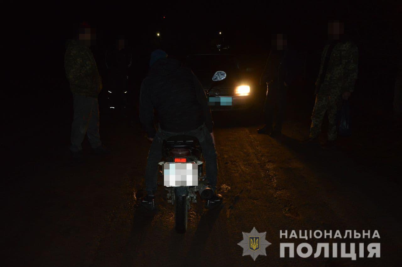 На Волині поліція спіймала крадія мотоцикла через півгодини після звернення
