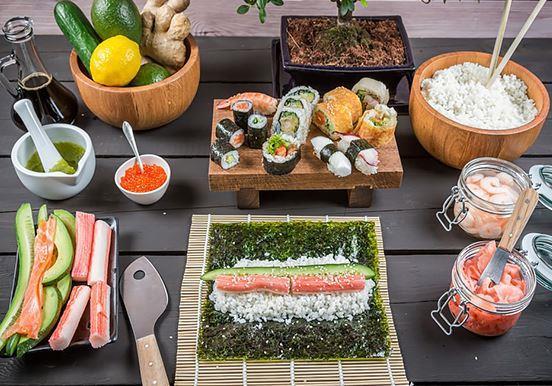 Які основні продукти для приготування суші*