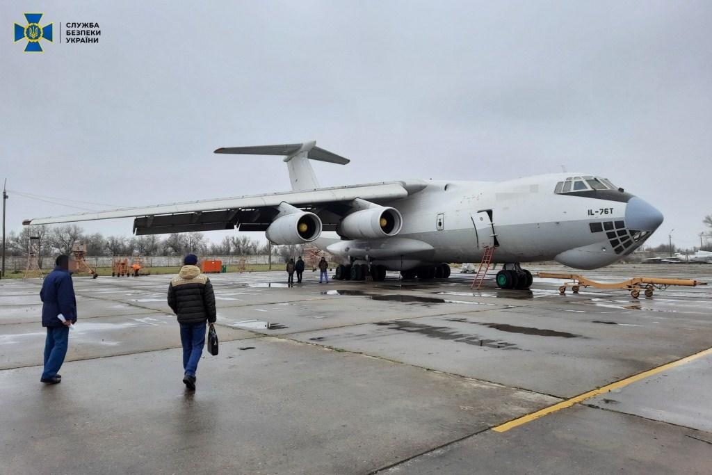 З України намагалися вивезти авіаобладнання на Близький Схід