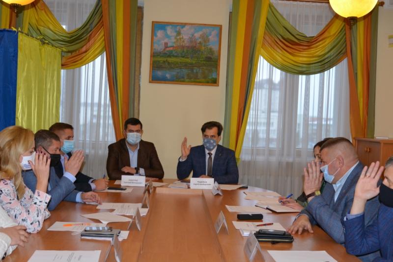 Постійна комісії Волиньради з питань ЖКГ вирішувала організаційні питання