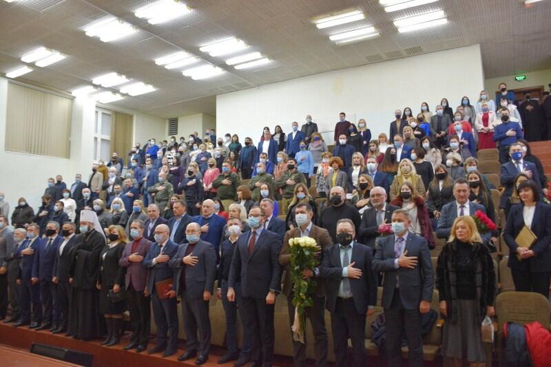 У Луцькому НТУ – урочистості з нагоди призначення Ірини Вахович на посаду ректора