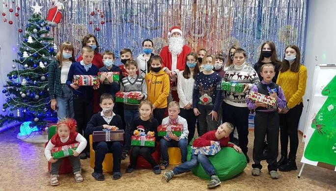 У Ковелі вихованців Центру комплексної реабілітації привітали з новорічними святами