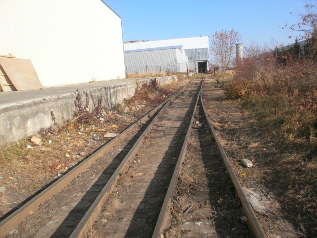 У Нововолинську продають залізничну колію