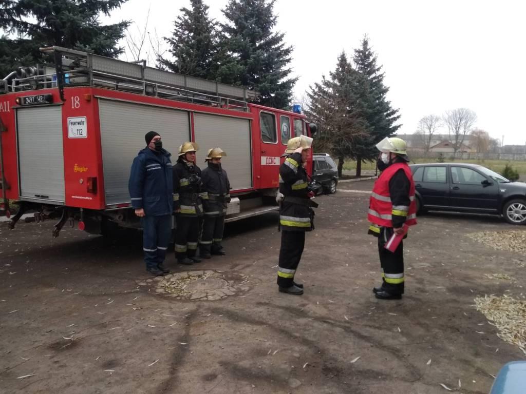 Рятувальники провели навчання у лікарні на Волині