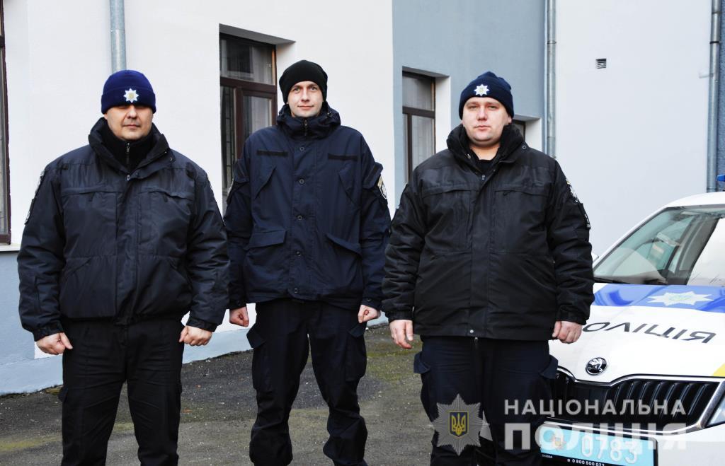 Поліцейські у Луцьку запобігли самогубству
