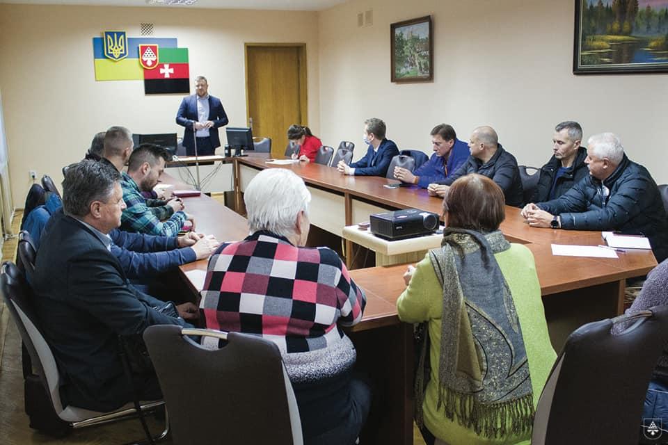 Мер Нововолинська зустрівся з представниками найбільшого бізнесу міста