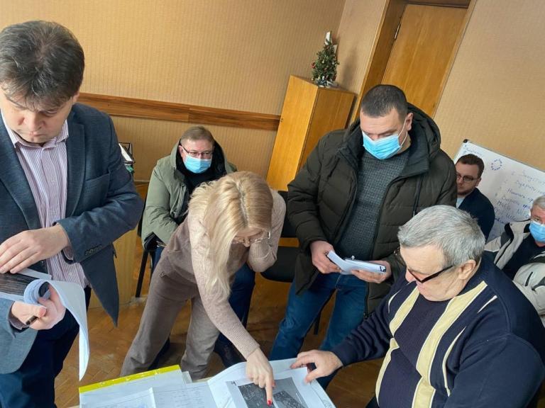 У Нововолинську обговорювали проектні пропозиції для інвестиційного паспорта громади