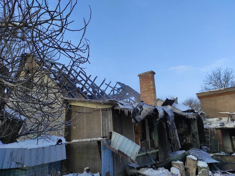 Поблизу Луцька згорів дім сина воїна УПА