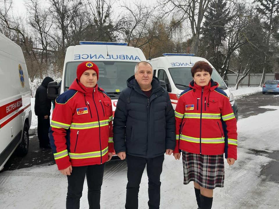 Волинська «швидка» отримала шість нових автомобілів для порятунку хворих на COVID-19