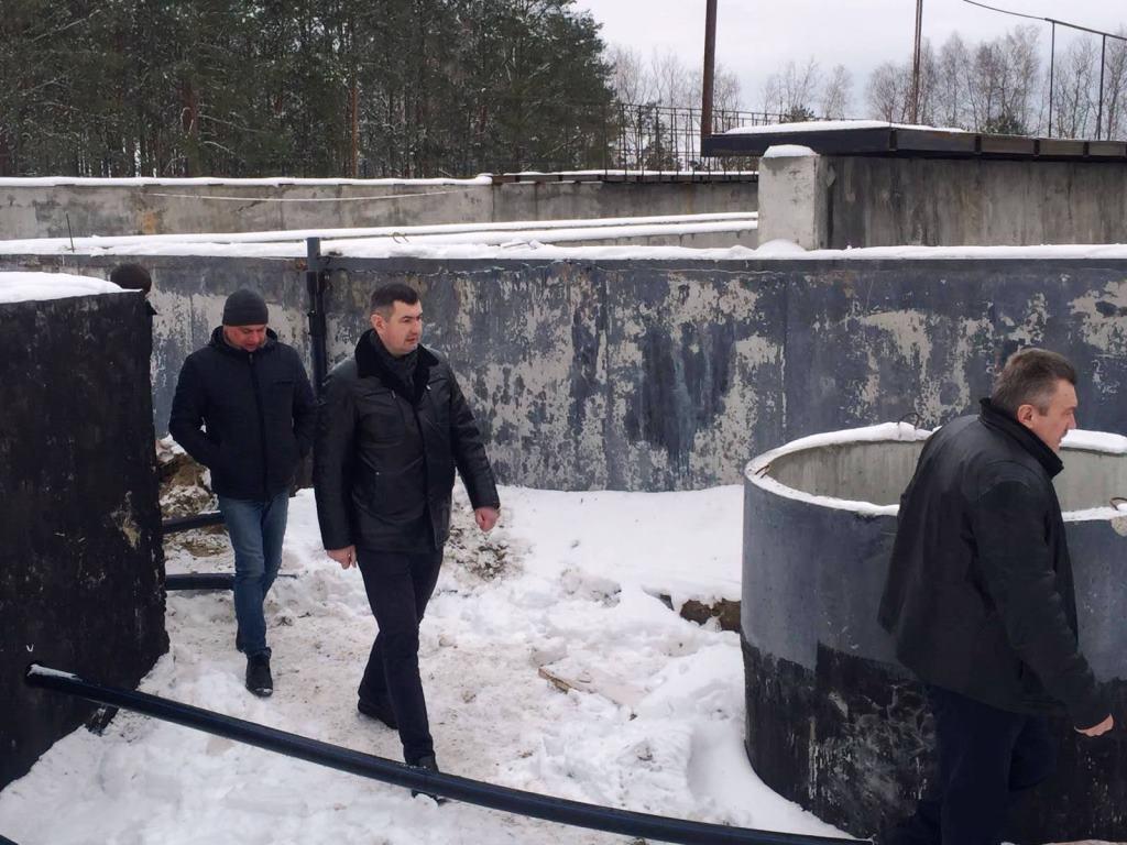 Очисні споруди та будівництво школи: голова Волиньради здійснив робочу поїду до Шацького краю