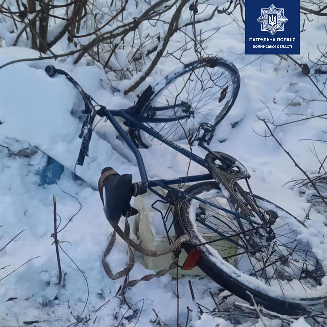 Ковельські патрульні віднайшли велосипед, який викрали з господарства чоловіка